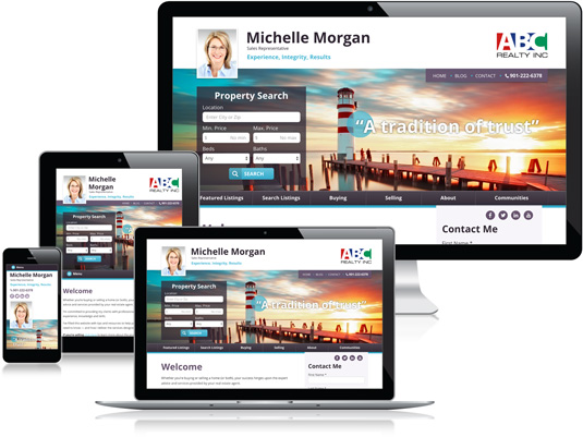 realtor website builder