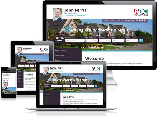 John Ferris's Realtor website