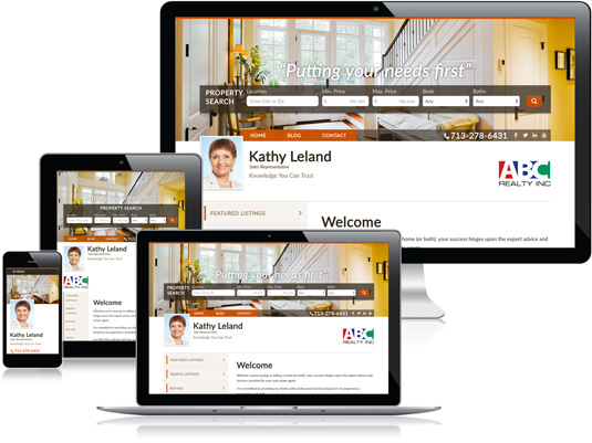 Kathy Leland's Realtor website