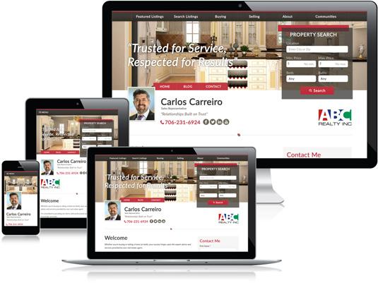 Carlos Carreiro's Realtor website