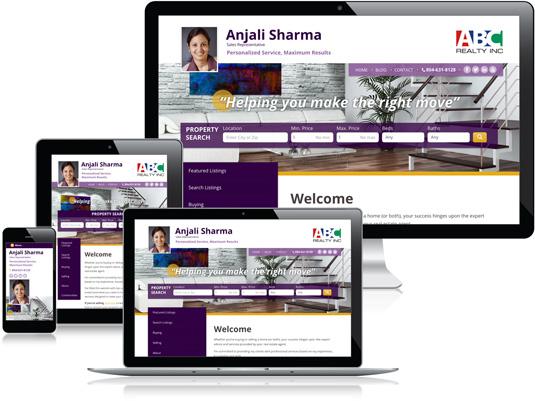 Anjali Sharma's Realtor website