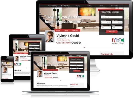 Vivienne Gould's Realtor website