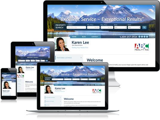 Karen Lee's Realtor website