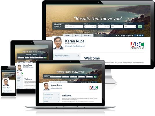 Karan Rupa's Realtor website
