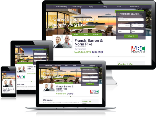 Francis Barron & Norm Pike's Realtor website