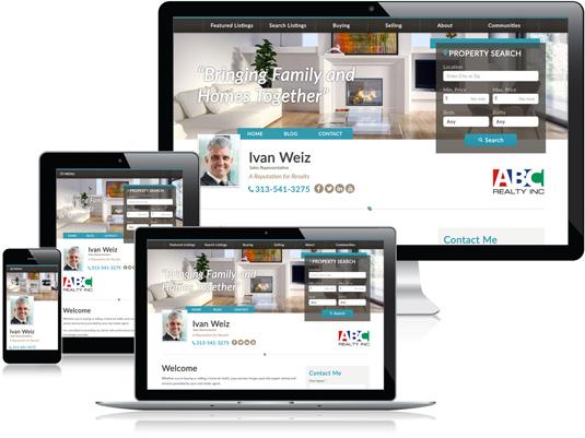 Ivan Weiz's Realtor website