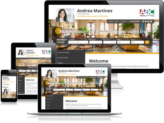 Andrea Martinez's Realtor website