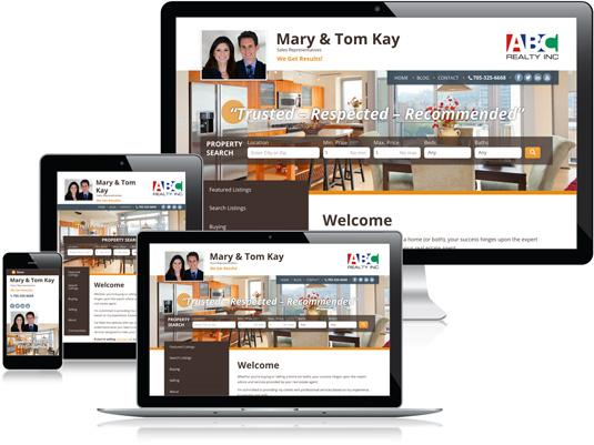 Mary & Tom Kay's Realtor website